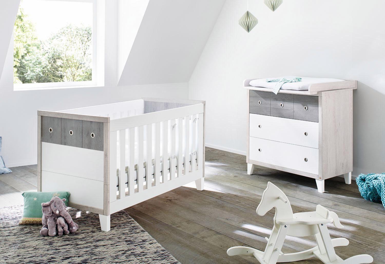 Pinolino Babyzimmer Set (2-tlg) Sparset, »Harper breit«