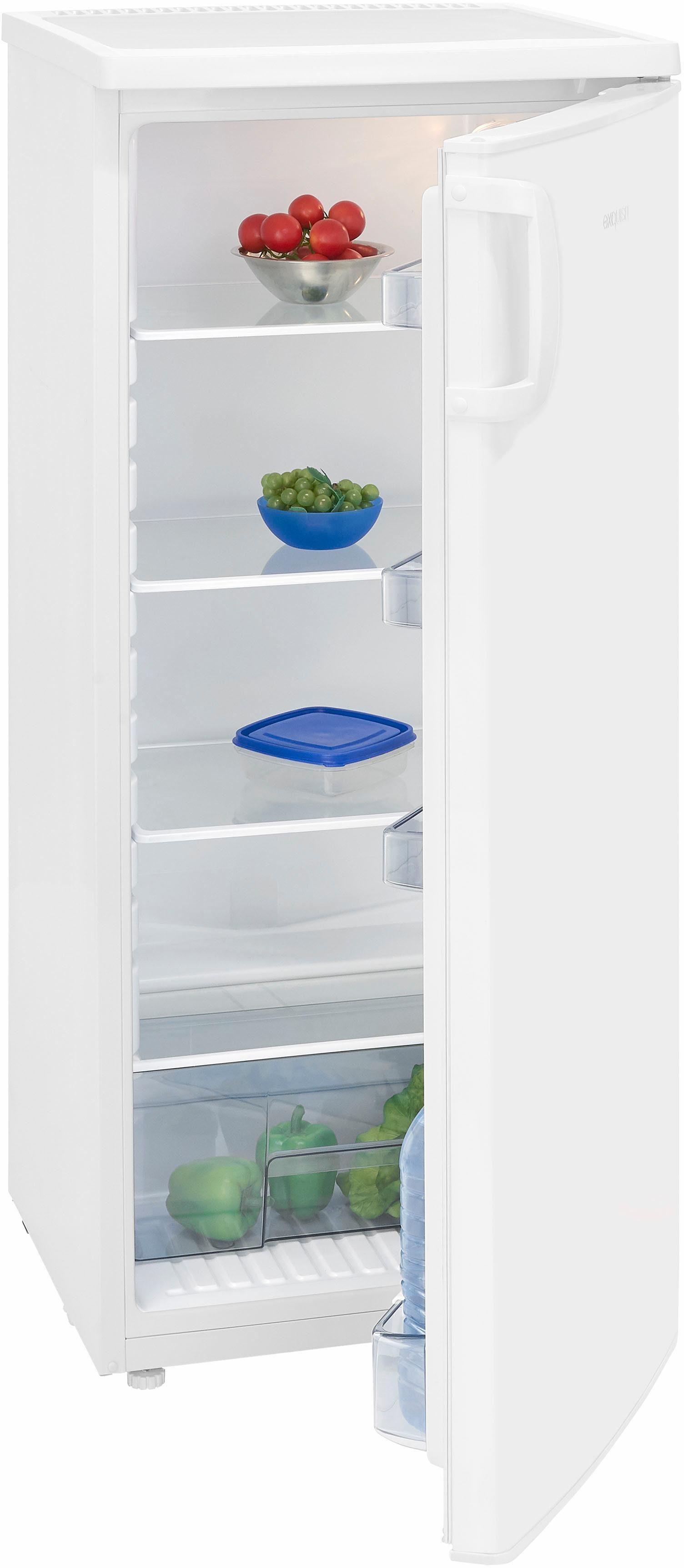 Exquisit Kühlschrank KS 190-5 RVA++, 125 cm hoch, 54,5 cm breit, A++, 125 cm hoch