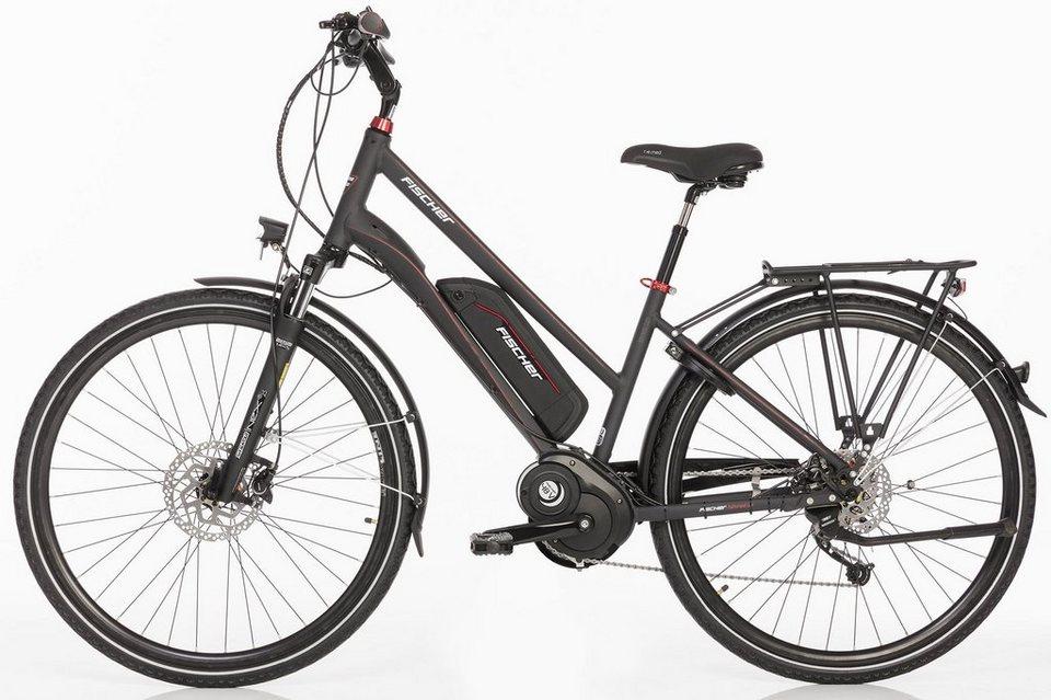 fischer damen trekking e bike 48 v 250 w mittelm 28 z. Black Bedroom Furniture Sets. Home Design Ideas