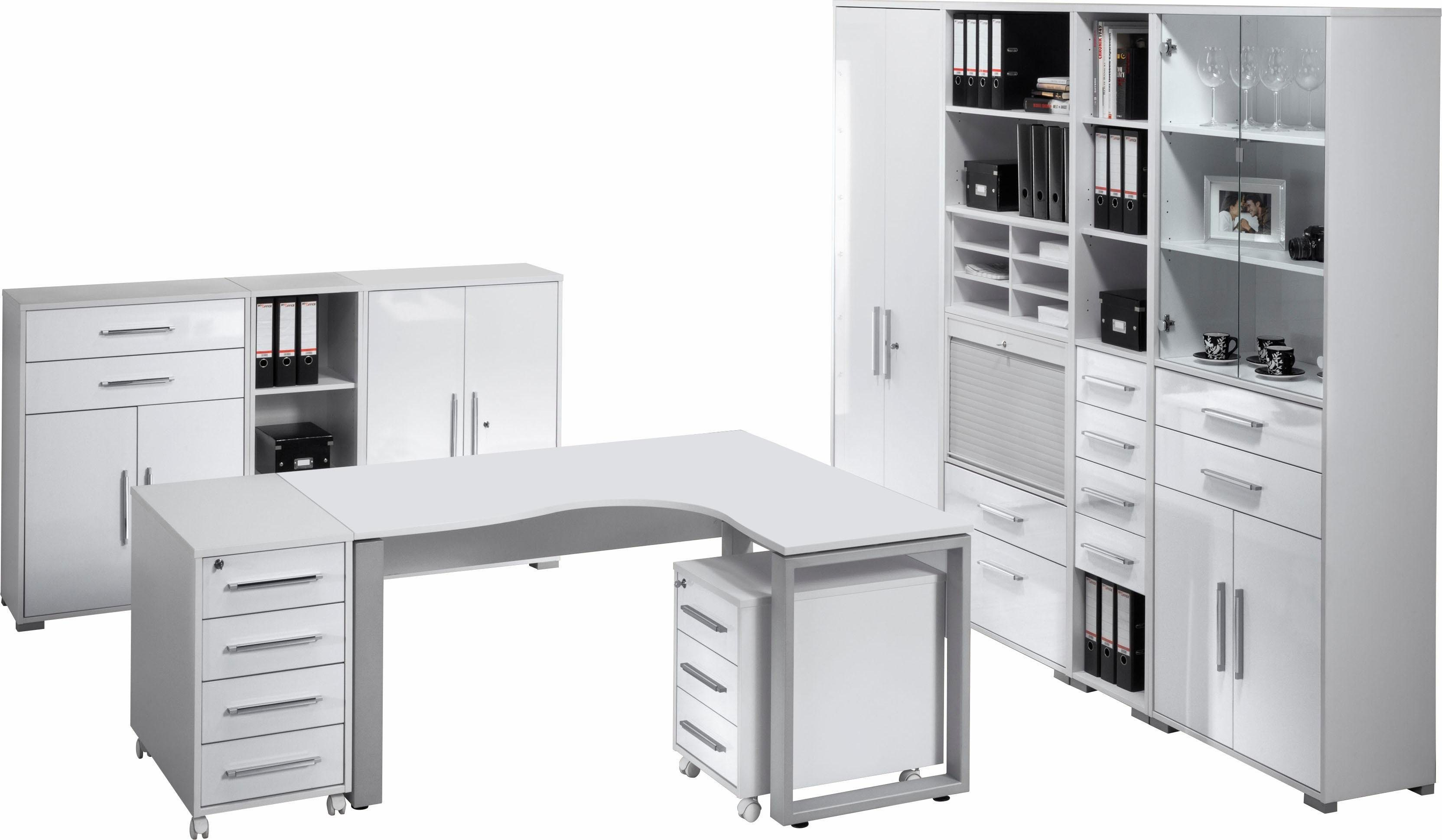Maja Möbel Büromöbel-Set »1207 SYSTEM« (10-tlg.) | Büro > Büromöbel-Serien | Weiß | Kunststoff - Abs | Maja Möbel