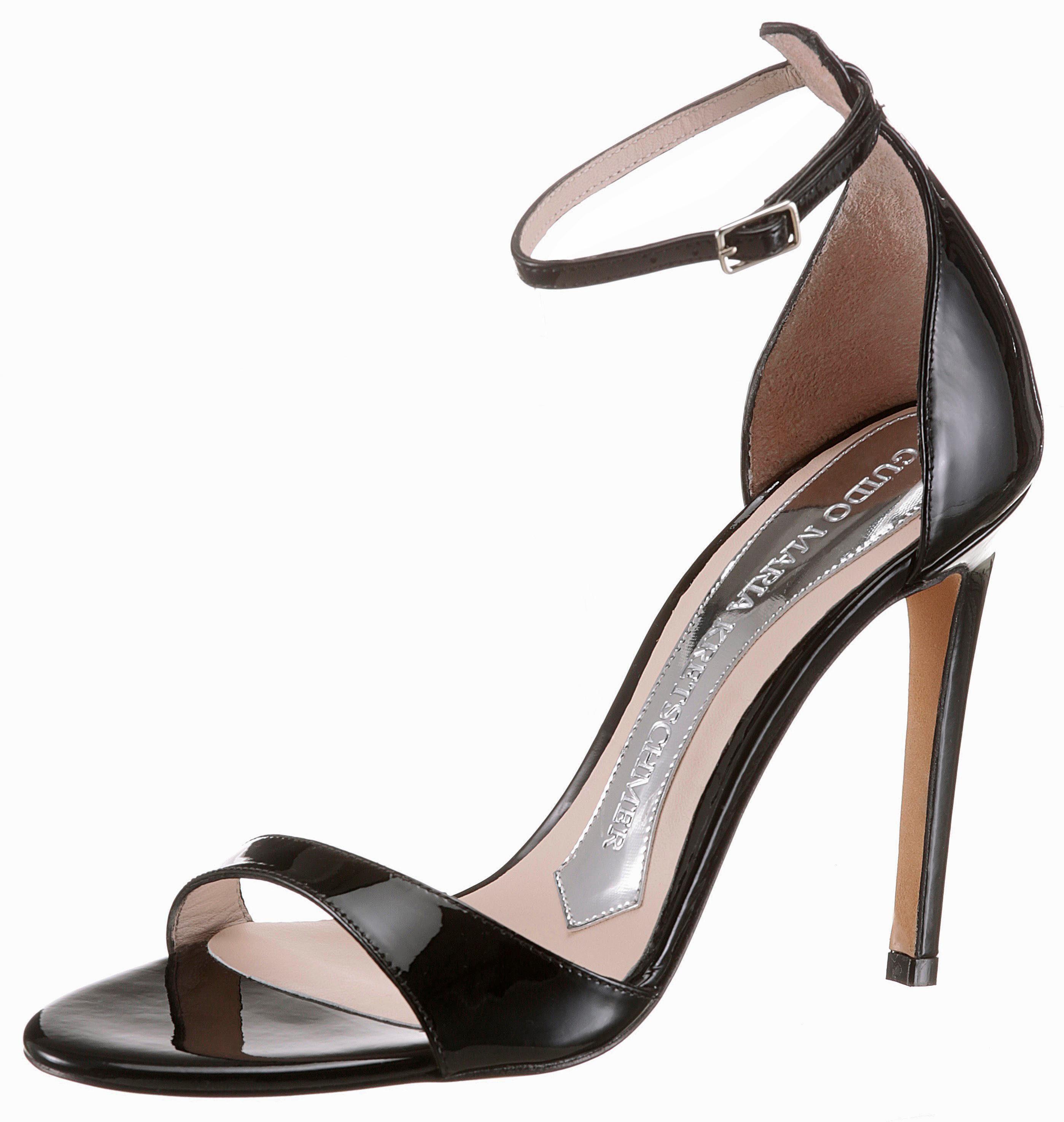 GUIDO MARIA KRETSCHMER Sandalette, aus elegantem Lackleder als Obermaterial online kaufen  schwarz