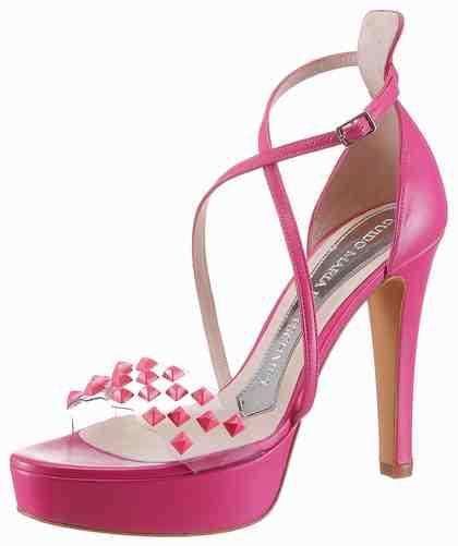 GUIDO MARIA KRETSCHMER Sandalette mit funkelnden Schmuckelementen