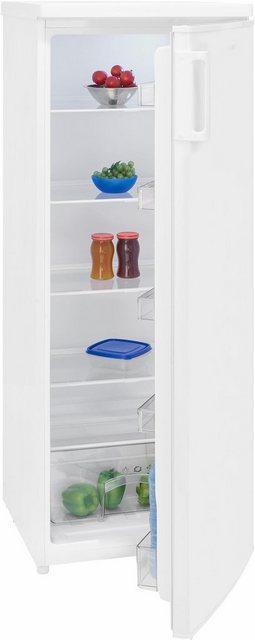 exquisit Kühlschrank KS 325-4.2 A++, 143 cm hoch, 55 cm breit, A++, 143 cm hoch | Küche und Esszimmer > Küchenelektrogeräte > Kühlschränke | Weiß | Exquisit