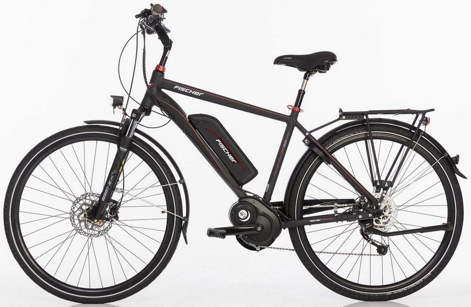 fischer herren trekking e bike 48 v 250 w mittelm 28 z. Black Bedroom Furniture Sets. Home Design Ideas