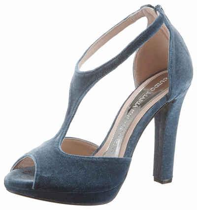00b84d9cd622 GUIDO MARIA KRETSCHMER Sandalette in top angesagter Samtoptik