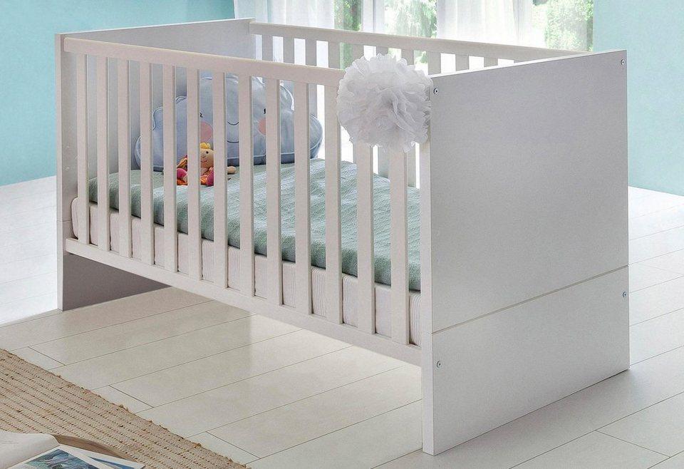 Babybett Cannes In Alpinweiß Liegefläche 140 X 70cm Online Kaufen