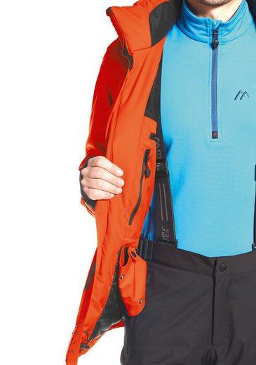 Maier Sports Skijacke Visp M, PFC-frei ausgerüstet