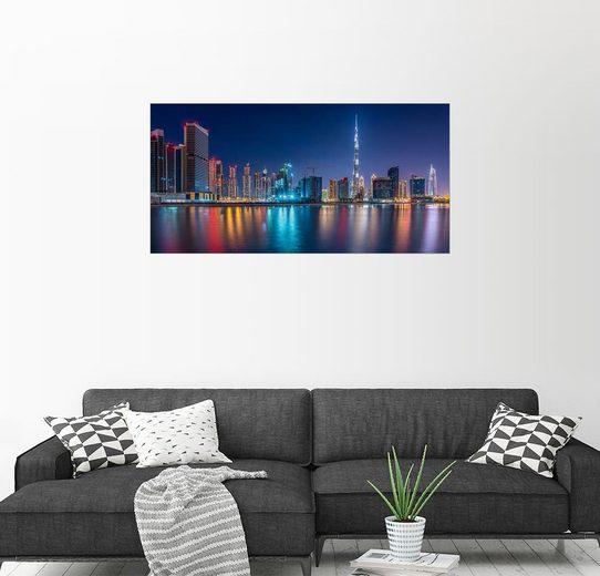 Posterlounge Wandbild - Stefan Schäfer »Dubai Skyline«