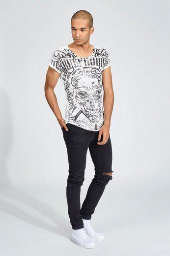 trueprodigy T-Shirt Black skull