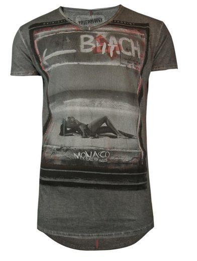 trueprodigy T-Shirt Monaco Girl vintage