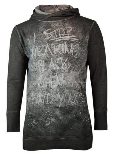 trueprodigy Kapuzensweatshirt Wearing Black