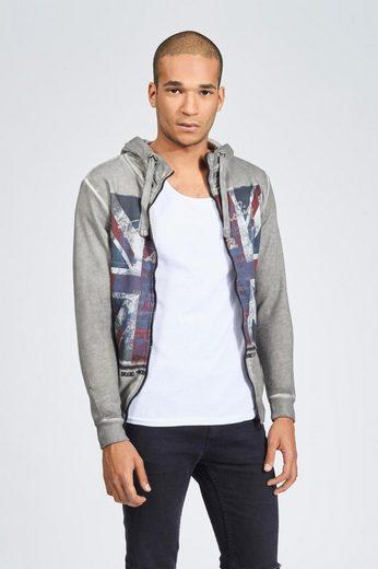 trueprodigy Sweatshirt Union Jack Zip
