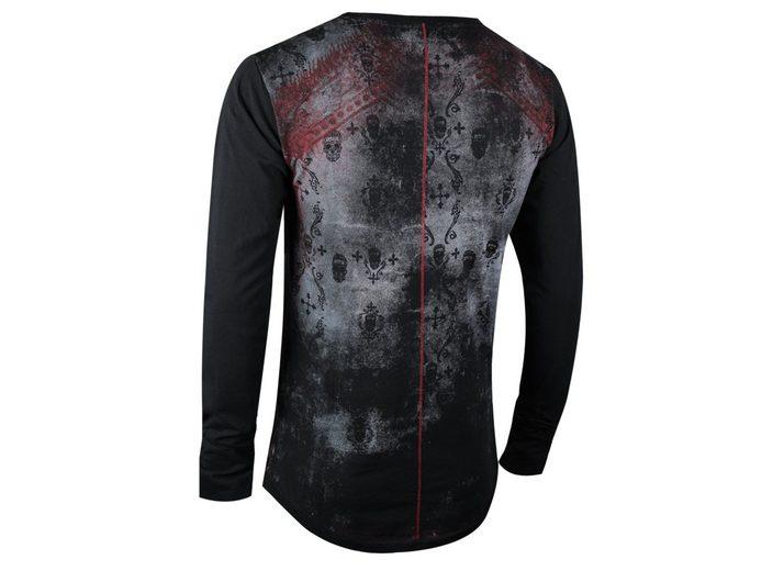 Online Kaufen trueprodigy Langarmshirt Black Budda Rabatt Neue Ankunft Hohe Qualität Günstiger Preis Rabatt Sast qK6VZb