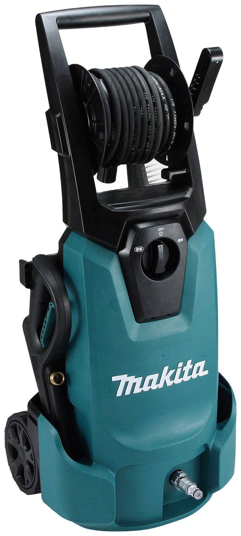 MAKITA Hochdruckreiniger »HW1300«, 130 bar, integrierte Schlauchtrommel, IPX5 Schutzisolierung
