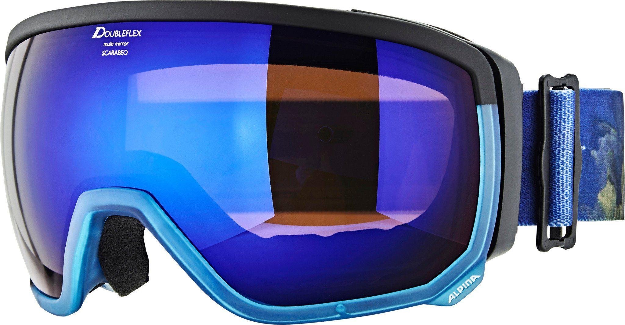 Alpina Sportbrille »Scarabeo MM S3 Goggle«