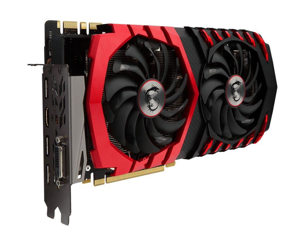 MSI Grafikkarte NVIDIA GeForce® GTX 1080 GAMING 8G »V336-089«