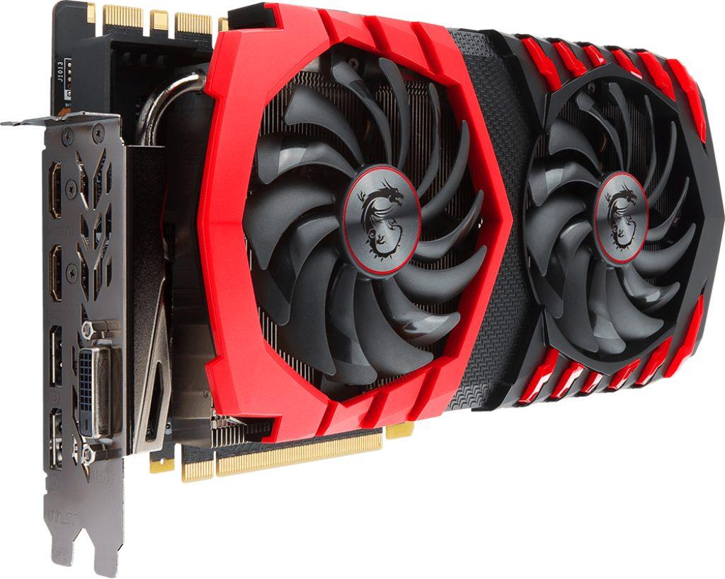 MSI Grafikkarte NVIDIA GeForce® GTX 1080Ti GAMING 11G »V360-021«