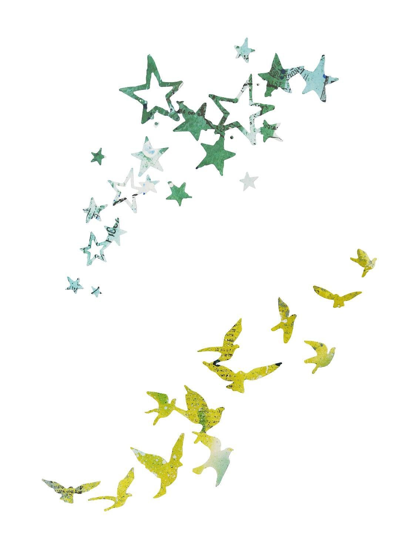 "Sizzix Thinlits Stanzschablone ""Birds and Stars"""