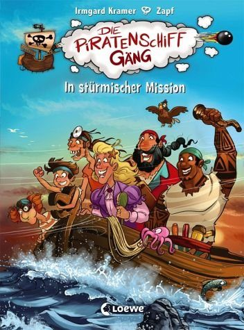 Gebundenes Buch »In stürmischer Mission / Die Piratenschiffgäng...«