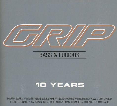 Audio CD »Diverse: Grip Bass & Furious 10 Years«