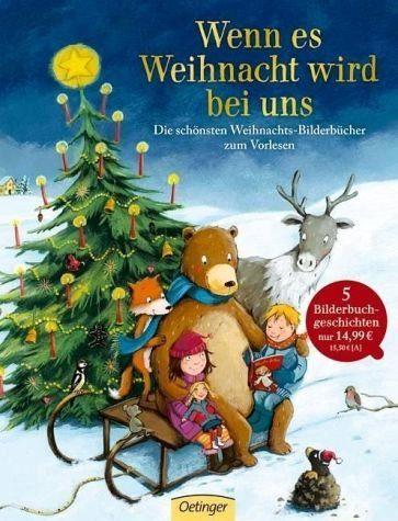 Gebundenes Buch »Wenn es Weihnacht wird bei uns«