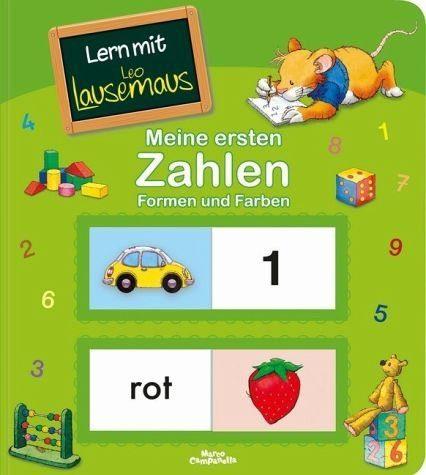 Buch mit Papp-Einband »Lern mit Leo Lausemaus - Meine ersten Zahlen...«