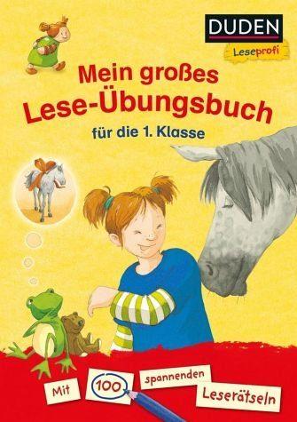 Broschiertes Buch »Duden Leseprofi - Mein großes Lese-Übungsbuch...«