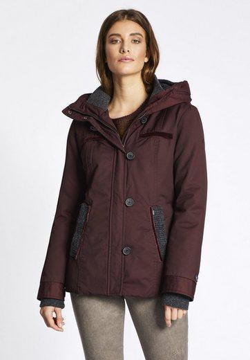 khujo Winterjacke MAGDA, mit verschließbaren Taschen