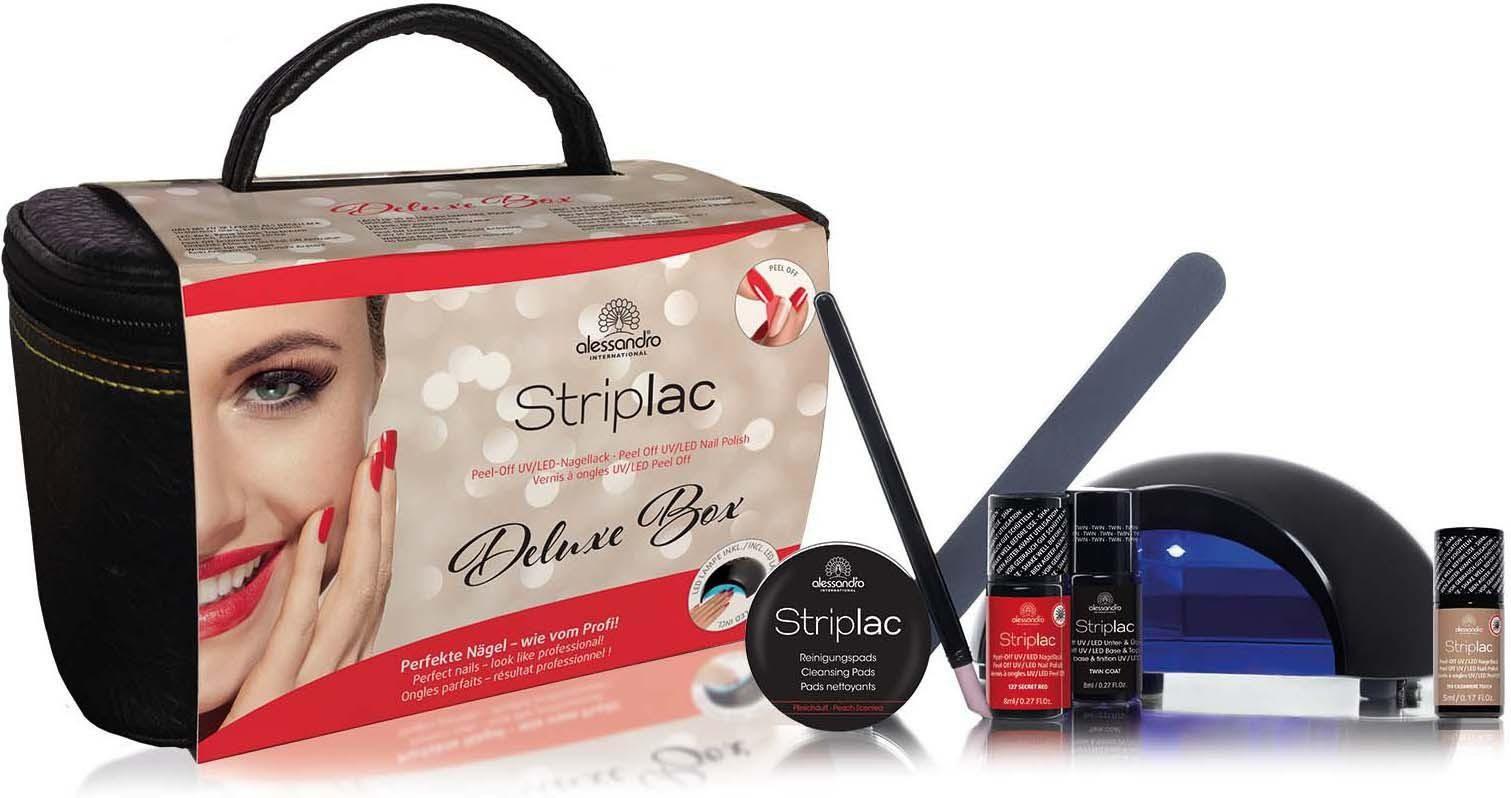 alessandro international, »Striplac Deluxe Starter Kit«, Nagellack-Set
