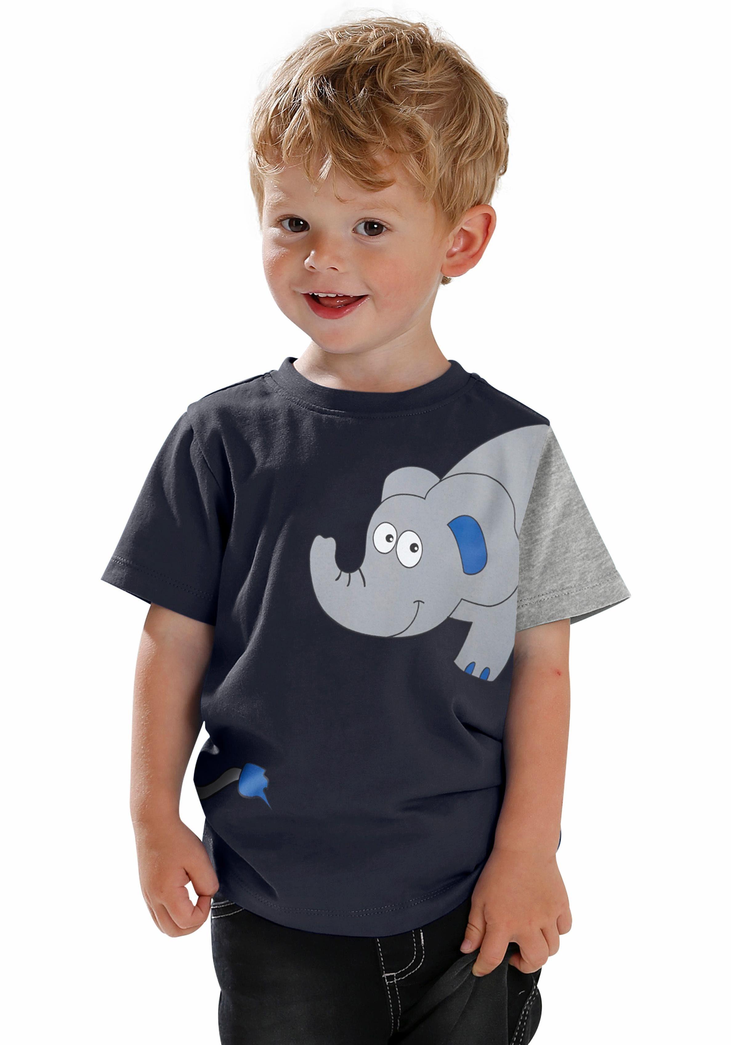 KIDSWORLD T-Shirt »ELEFANT« Druck
