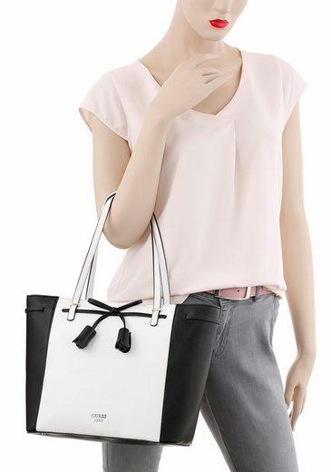 Guess Shopper Leila Carryall, mit Fransenapplikation