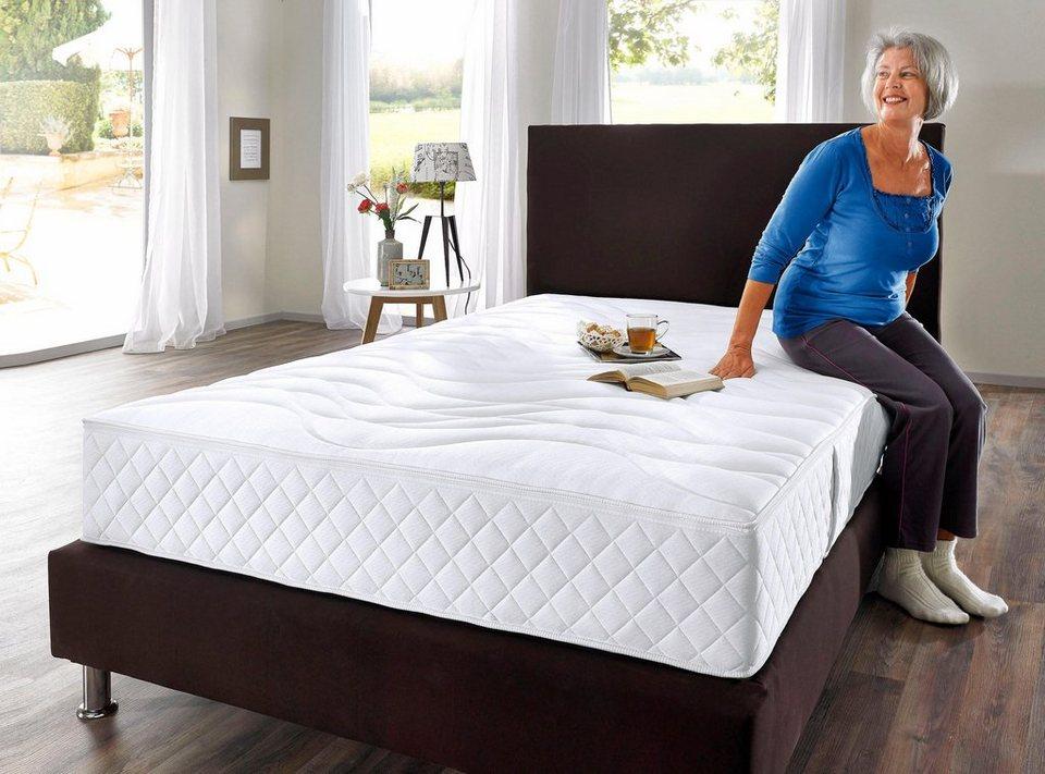 taschenfederkernmatratze senioren 55 plus my home 25 cm hoch raumgewicht 35 1 tlg. Black Bedroom Furniture Sets. Home Design Ideas