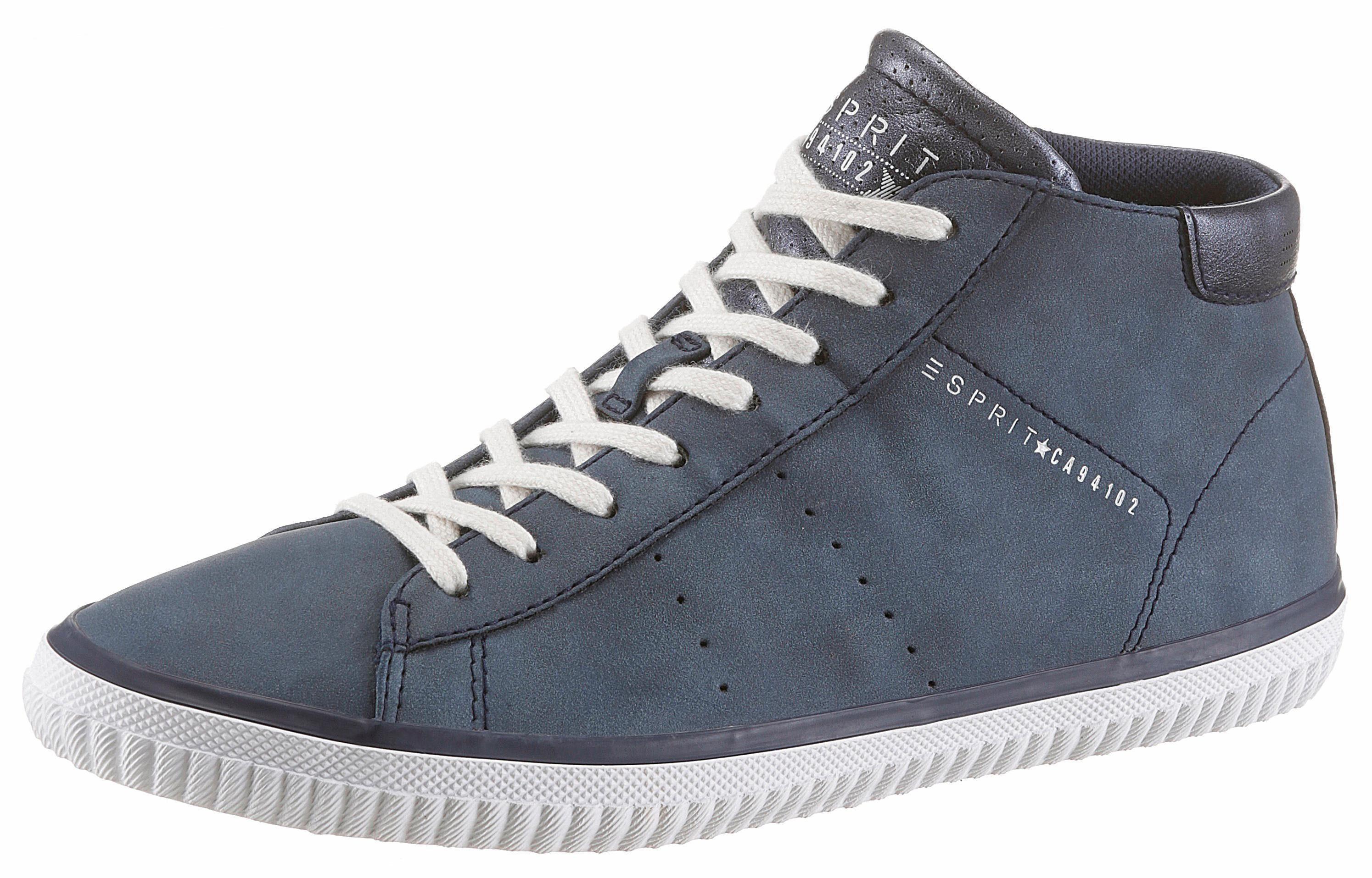 Esprit »Riata Bootie« Sneaker, im schlichten Design, natur, beige