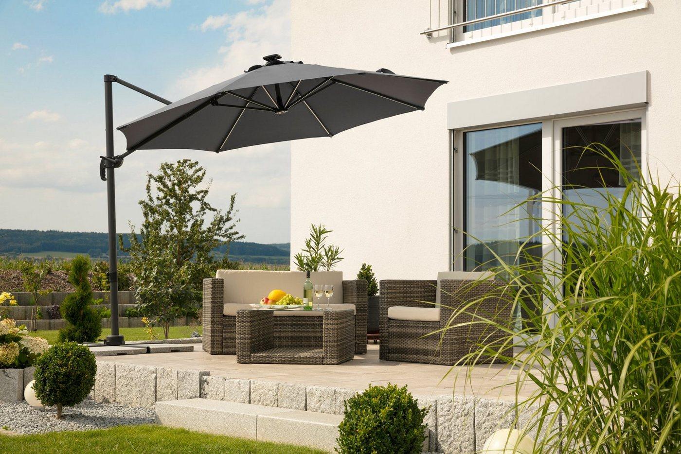 schneider sonnenschirm rhodos machen sie den preisvergleich bei nextag. Black Bedroom Furniture Sets. Home Design Ideas