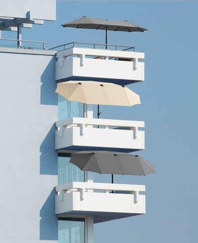 terrassen und balkon sonnenschirm