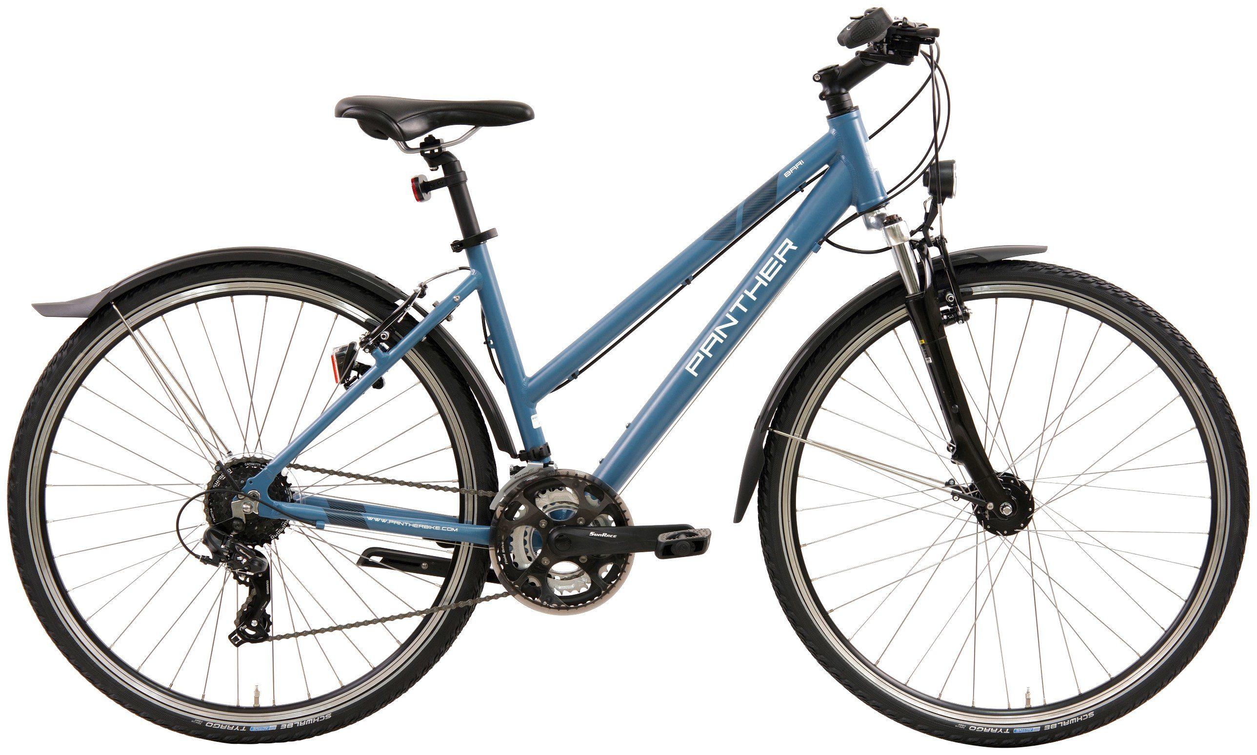 PANTHER Crossbike Damen »Bari«, 28 Zoll, 24 Zoll, Felgenbremse