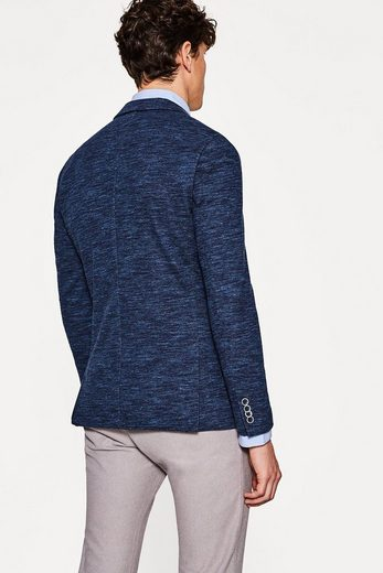 ESPRIT COLLECTION Melierter Jersey-Blazer aus Baumwolle