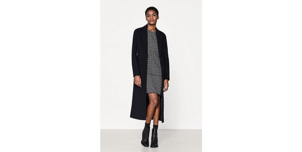 Wirklich Zum Verkauf ESPRIT COLLECTION Stretch-Kleid mit Karo-Hahnentritt-Muster Sat Billig Günstig Online Günstig Kaufen 100% Garantiert k5Fpl