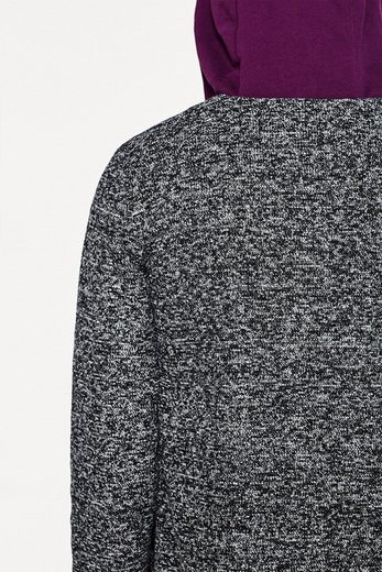 EDC BY ESPRIT Indoor-Mantel aus meliertem Jersey