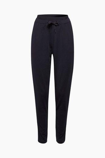 ESPRIT Lässige Jersey-Pants mit Bundfalten