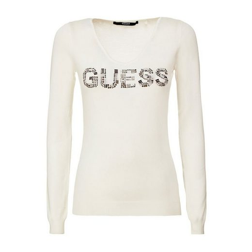 Guess PULLOVER LOGO APPLIKATIONEN
