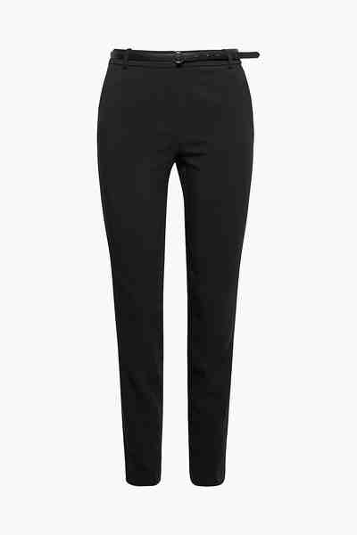 ESPRIT COLLECTION Schmale Bi-Stretch-Hose mit Gürtel