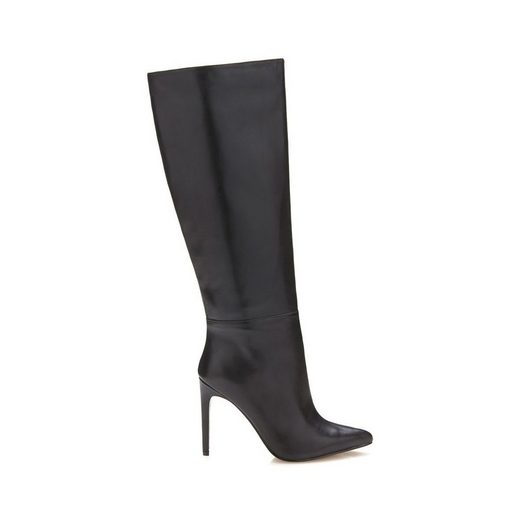 Guess High Boots Made Of Leather Lilla