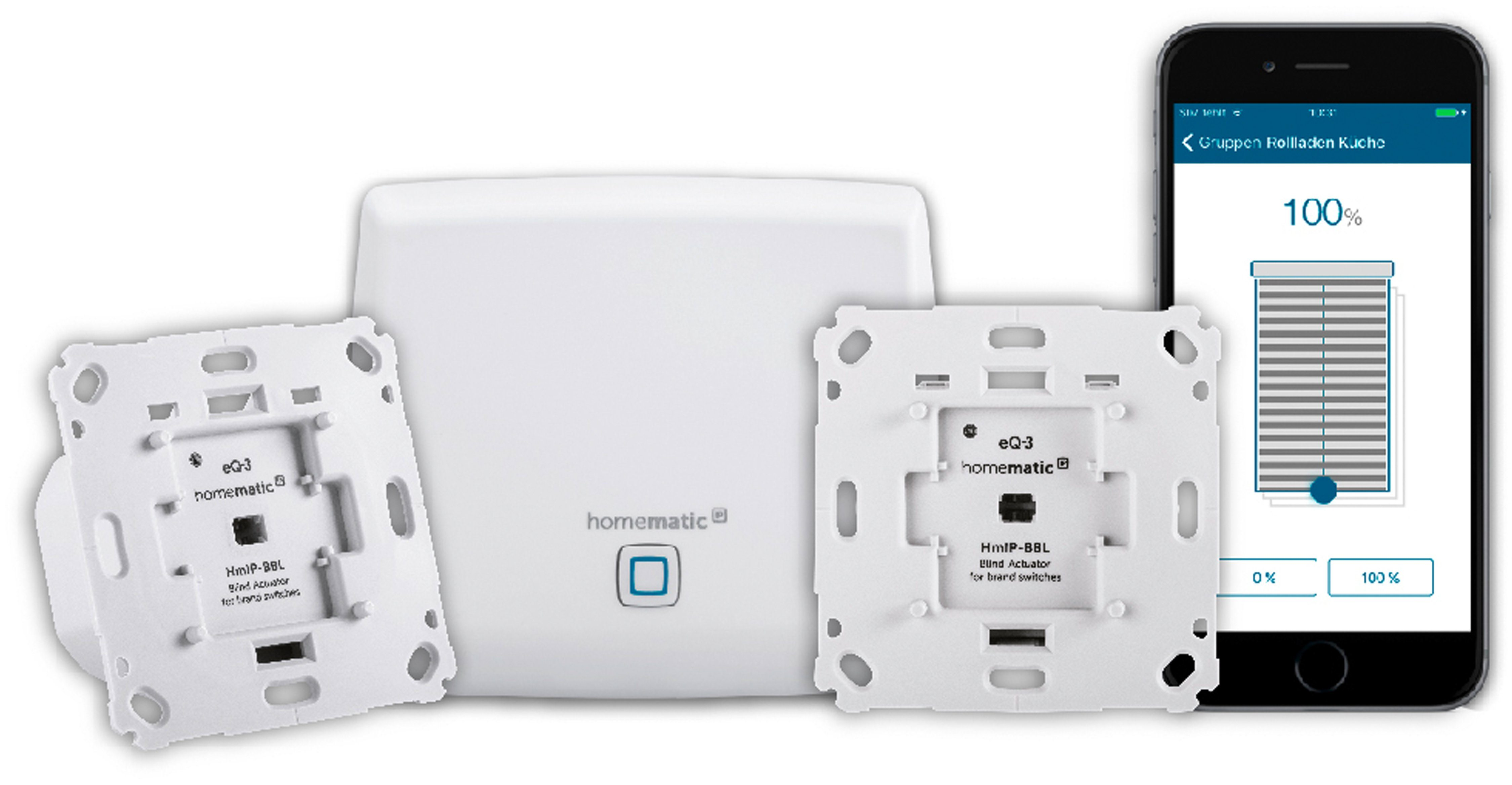 Homematic IP Smart Home - Licht & Komfort »Starter Set Beschattung - HmIP-SK5«