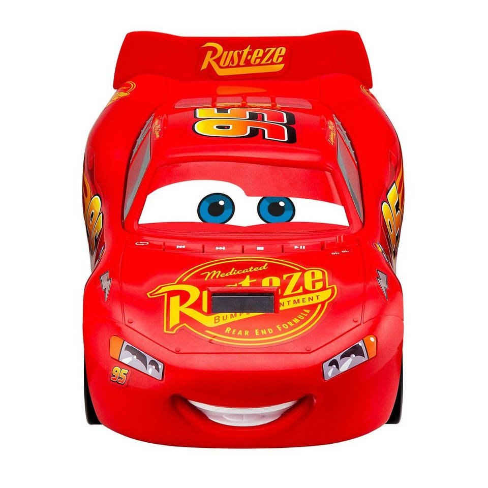 Ekids Cd Player Vroombox Im Cars Lightning Mcqueen Design Cr 430