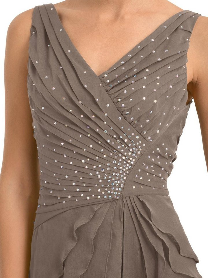 Festtagsmode - PATRIZIA DINI by Heine Abendkleid »Abendkleid« › braun  - Onlineshop OTTO