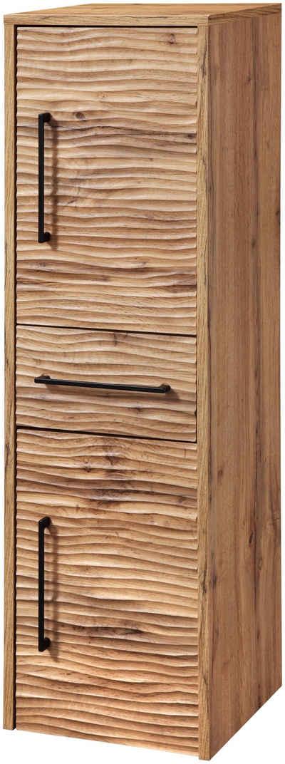 welltime Seitenschrank »Canada« Midischrank Hochschrank Badmöbel, Breite 30 cm