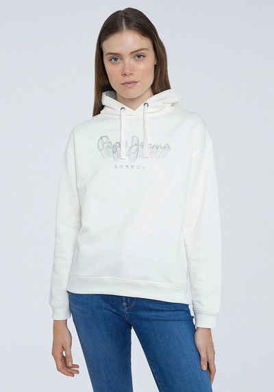Pepe Jeans Hoodie »ADELE« mit kreativem Marken-Logo-Druck im Brustbereich