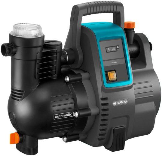GARDENA Hauswasserautomat »4000/5, 01758-61«, 4.000 l/h max. Fördermenge