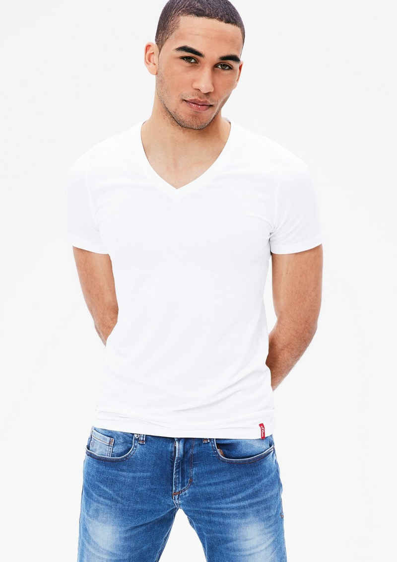 s.Oliver Kurzarmshirt »Basic-T-Shirts im 2er-Pack« (1-tlg)